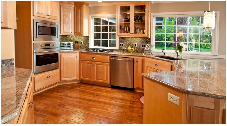 Wolf Kitchen Cabinets  Wolf Saginaw Honey Aqua Kitchen and Bath Design Center